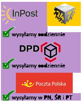 DPD Poczta Polska Inpost